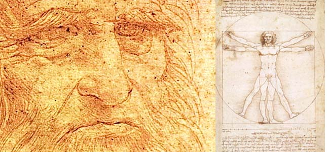 FOLLOWING LEONARDO'S FOOTSTEPS